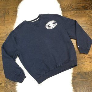 Champion Authentic Men's Sweatshirt XL Navy